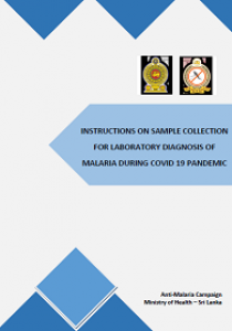 Instructions on sample collection for laboratory diagnosis of malaria during Covid 19 pandemic